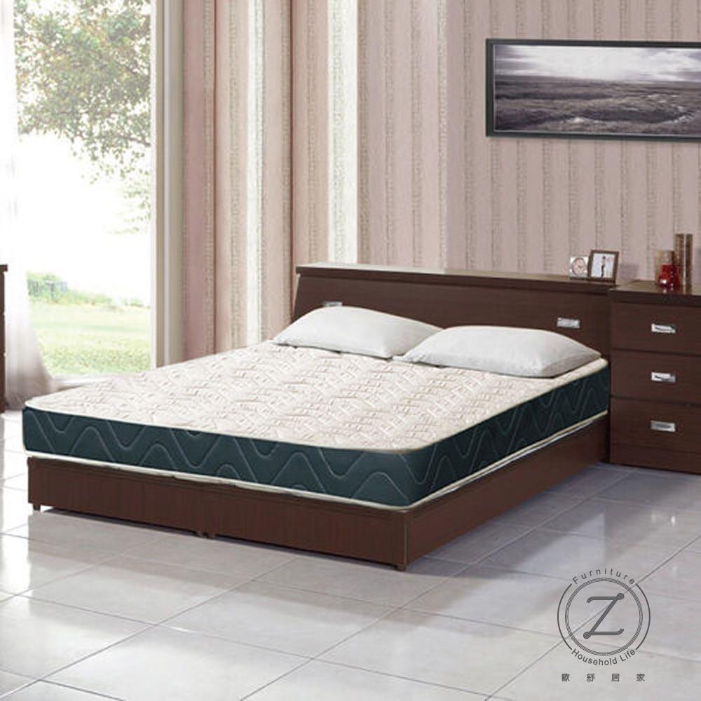 《OZ 歐舒》香榭大道蜂巢透氣圍邊獨立筒床墊-雙人5X6.2尺