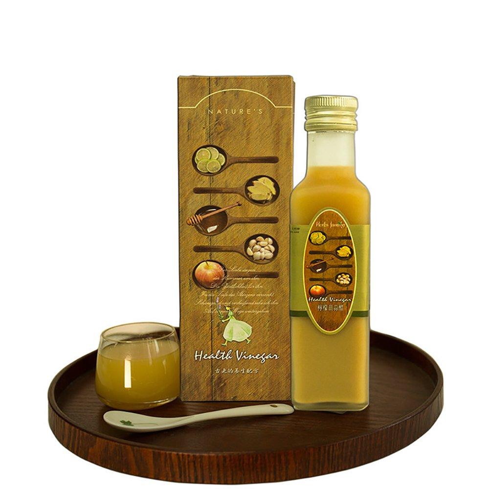 印度古方【奇香妙草】 Health Vinegar檸檬薑蒜蜜醋x1