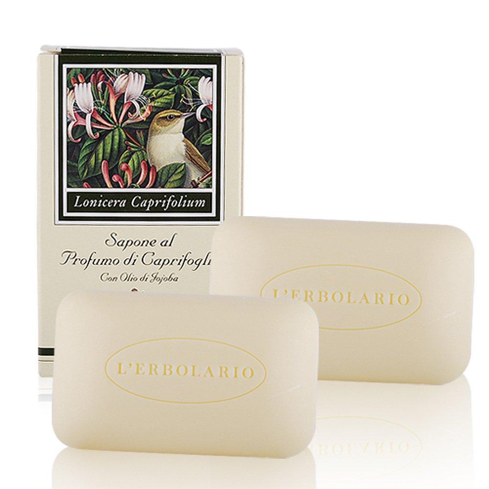 L'ERBOLARIO 蕾莉歐 忍冬植物香氛皂 (100g)X2