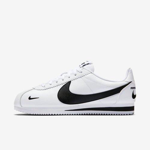 Nike Classic Cortez PREM [807480-104] 男鞋 運動 休閒 經典 潮流 阿甘 白黑