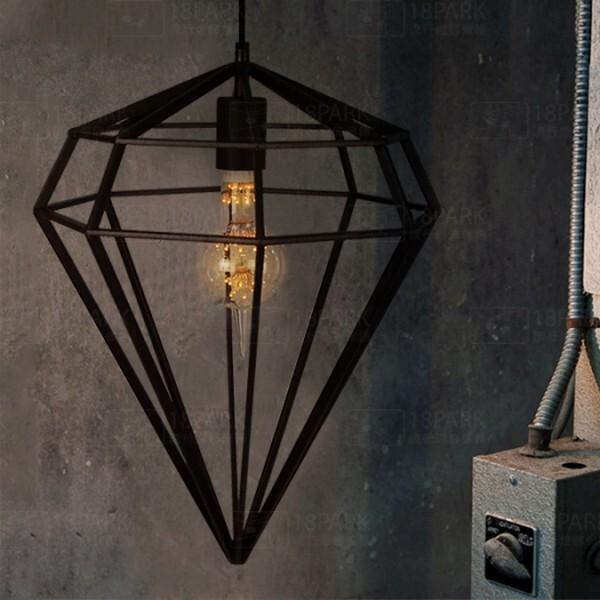 18park-愛軌吊燈 [黑色,全電壓]