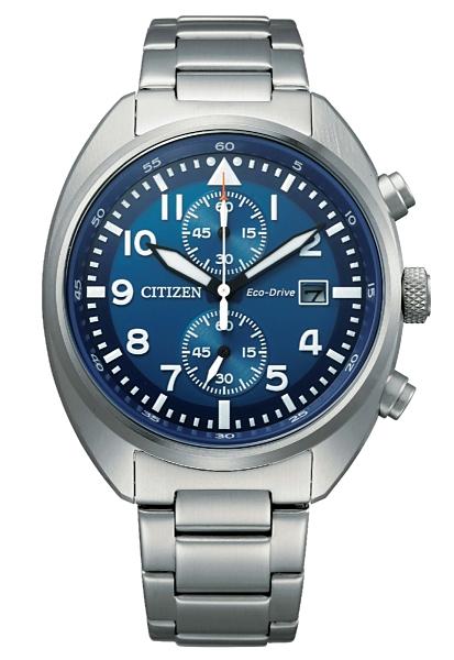41mm【時間光廊】星辰錶 CITIZEN 光動能 計時秒表 全新原廠公司貨 CA7040-85L
