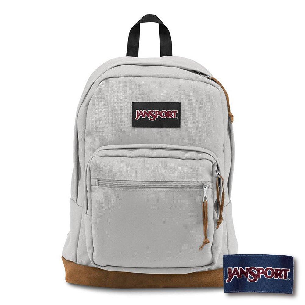 JANSPORT RIGHT PACK 系列後背包 -淺灰