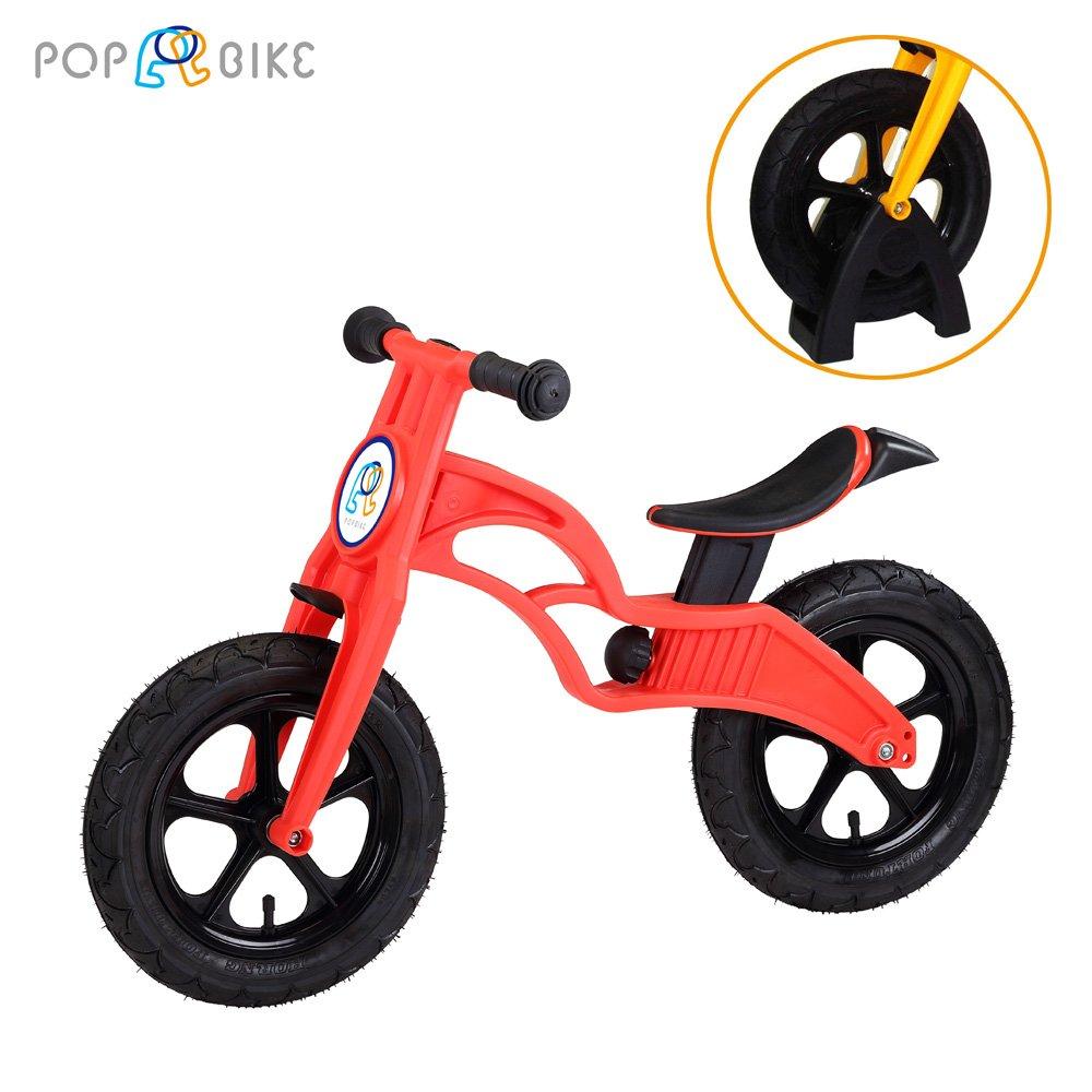 【POPBIKE】兒童充氣輪胎滑步車-AIR充氣胎+置車架