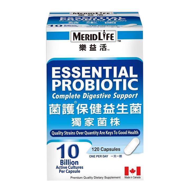 MERIDLIFE 樂益活菌護保健益生菌 120 顆