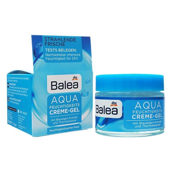 德國 Balea AQUA藍藻保濕凝膠日霜(50ml)【小三美日】D473622