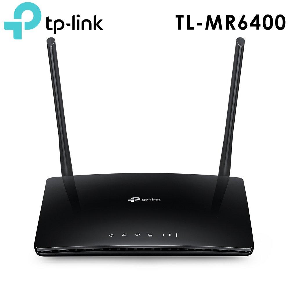 ★快速到貨★TP-LINK TL-MR6400 300Mbps 4G LTE SIM卡無線網絡家用wifi路由器(分享器)