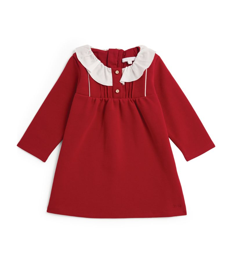 Chloé Kids Frilled-Collar Long-Sleeved Dress (6-36 Months)