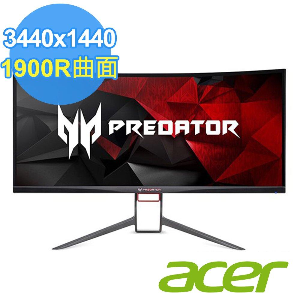ACER 宏碁 Predator X34P 34型 IPS 21:9 G-SYNC曲面電競螢幕