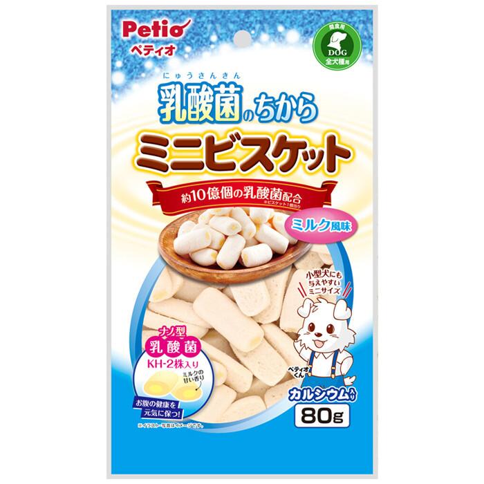 petio乳酸菌迷你餅牛奶風味80g/袋
