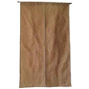 【宜欣居傢飾】浪漫滿屋*金黃-雙層紗布緹花精緻門簾90*150cm