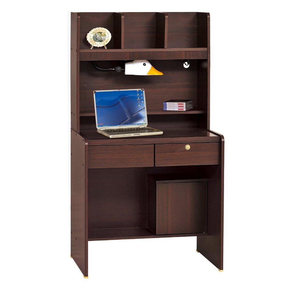 【MUNA】胡桃色2.5尺書桌全組(另有檜木色)