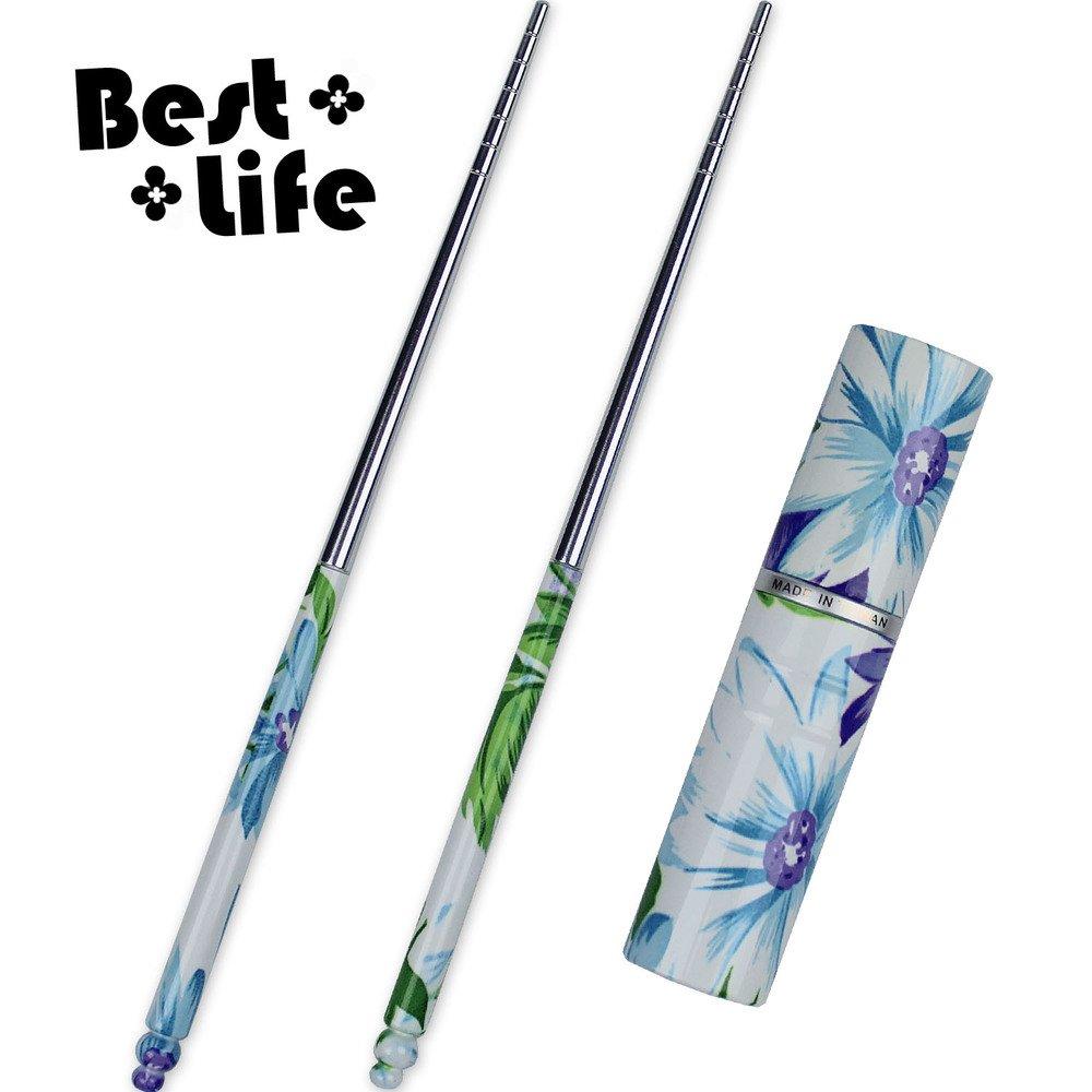【Best-Life】台灣製藍葵心境輕便環保筷