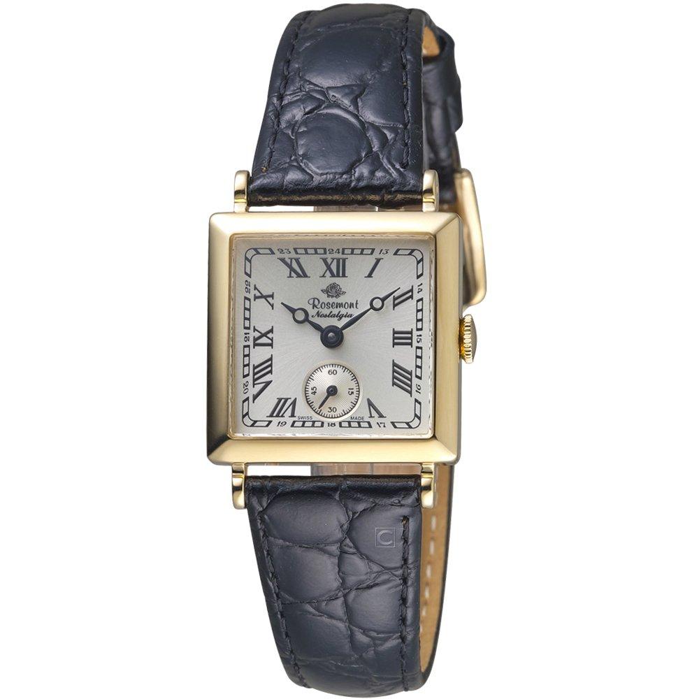 Rosemont 戀舊系列時尚腕錶 黑      TN011-YWR-BBK