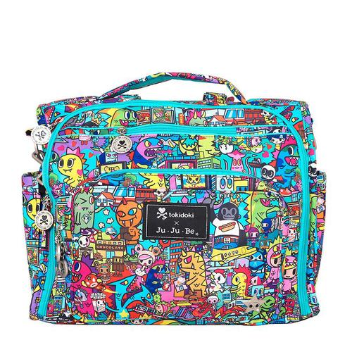 JuJuBe媽媽包 BFF Diaper Bag 媽媽包-Kaiju City