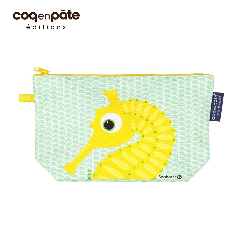 COQENPATE 法國有機棉布包-畫筆兒的家-海馬(N)
