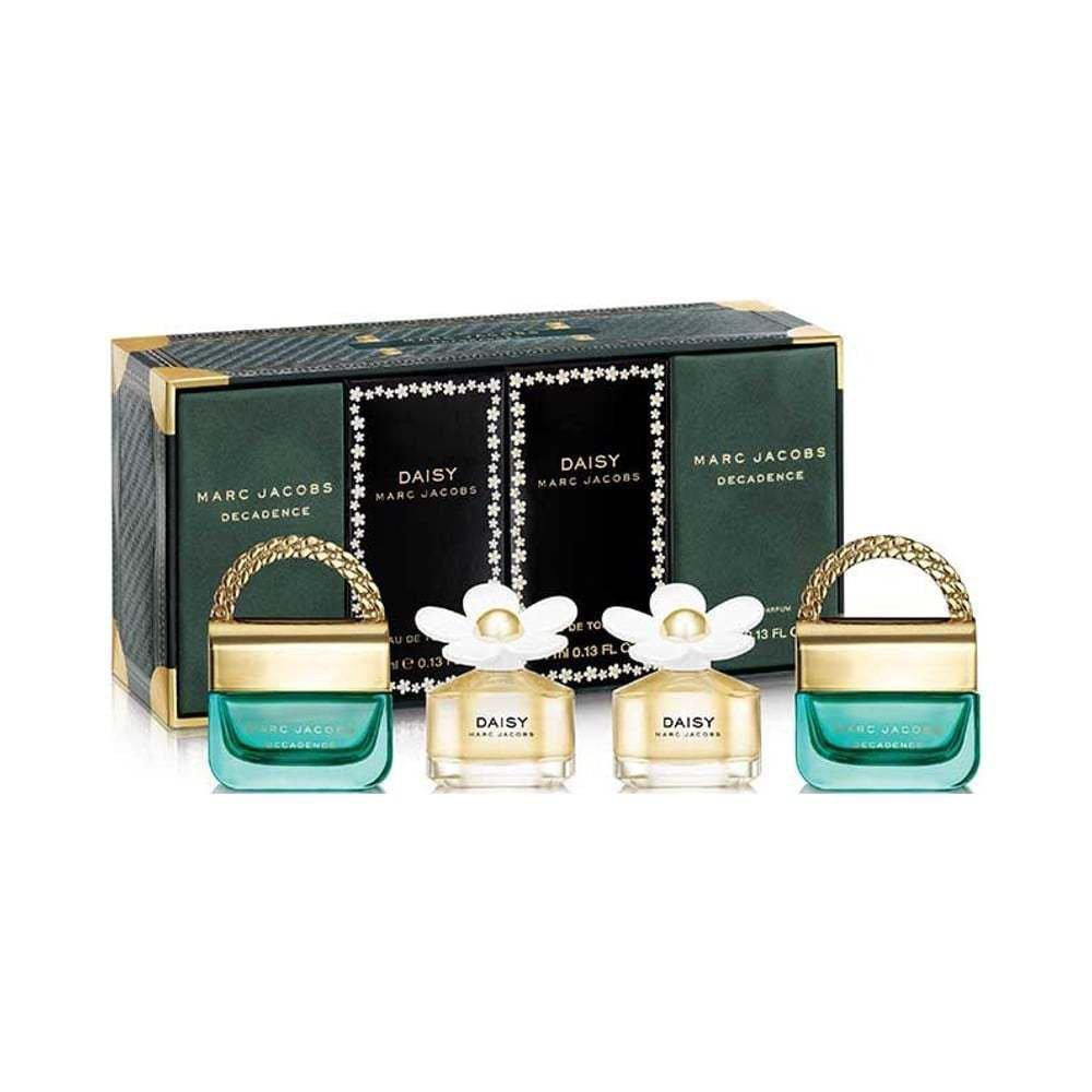 【Marc Jacobs】Daisy小雛菊&不羈女神 小香禮盒4件組