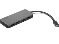 Lenovo USB-C 至 4 埠 USB-A 集線器