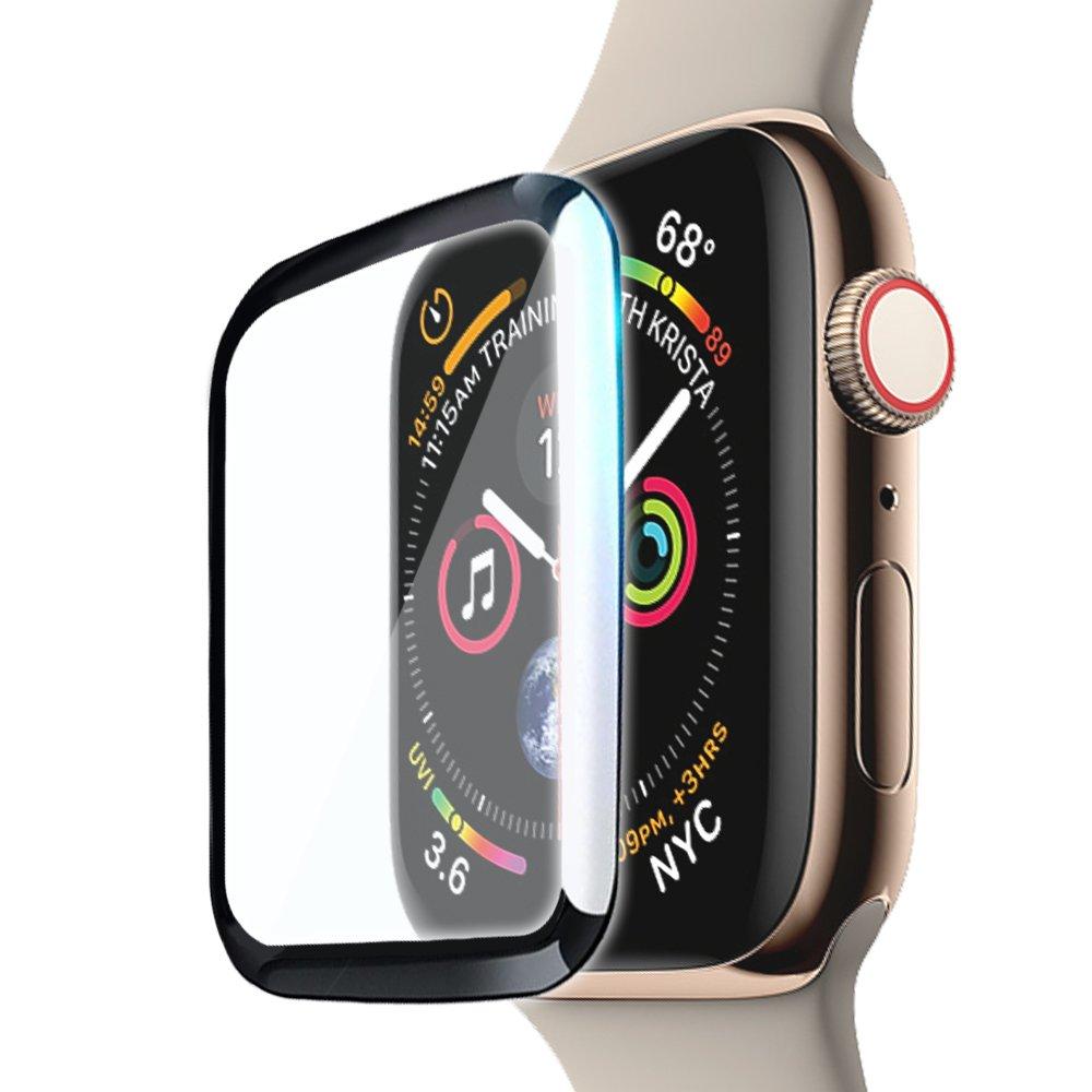 CITY for Apple Watch Series 3/2/1 38mm 滿版全膠曲面疏水玻璃貼
