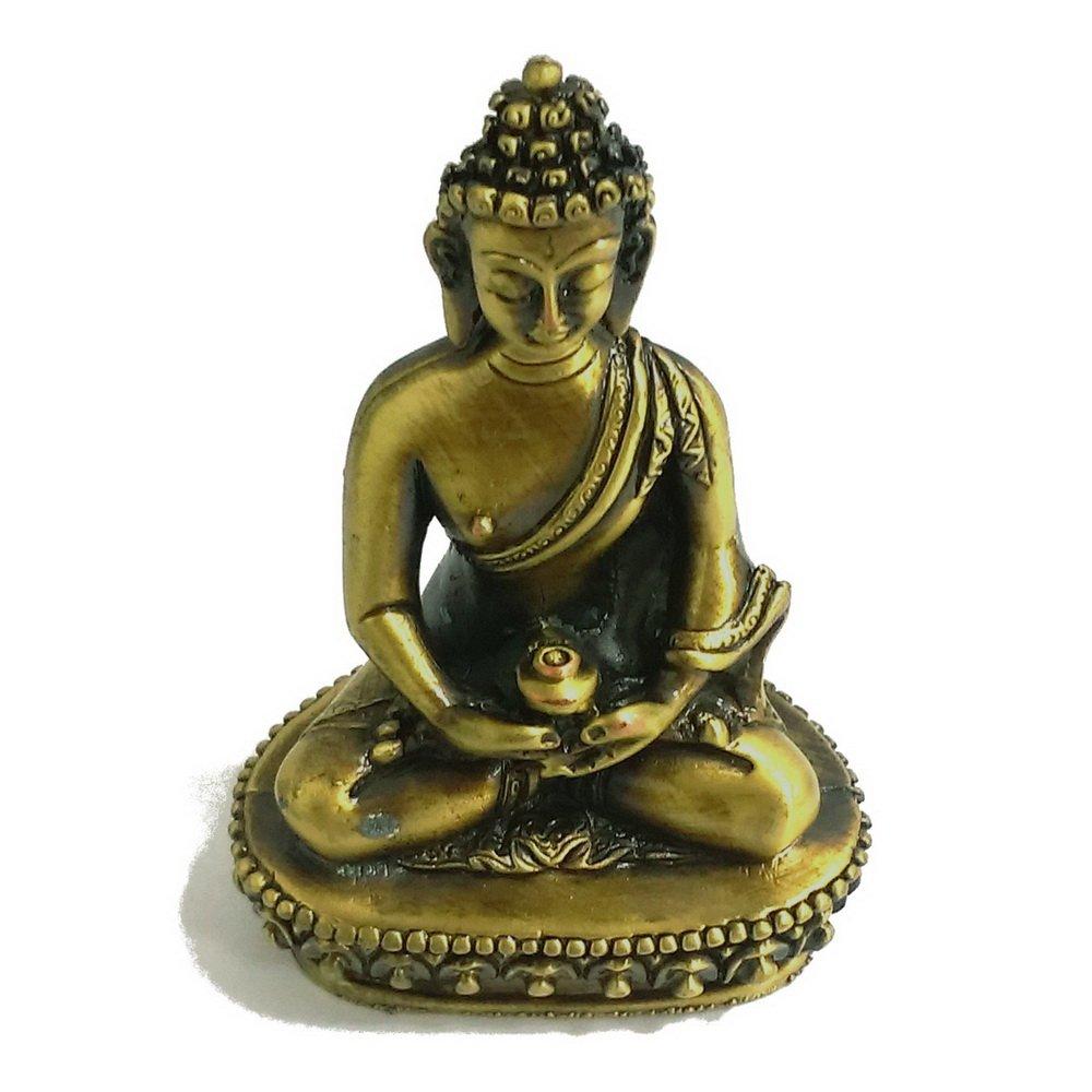 阿彌陀佛 5.7公分 小佛像/法像-古銅色