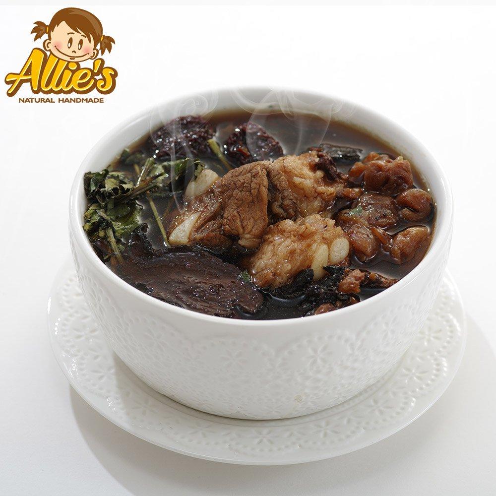 Allie's港式煲湯系列  2包何首烏熟地軟骨湯420g/包-出貨d+7天