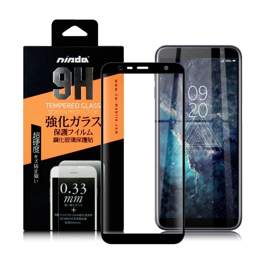 NISDA for 三星SAMSUNG Galaxy J4+/ J6+ 完美滿版玻璃保護貼-黑