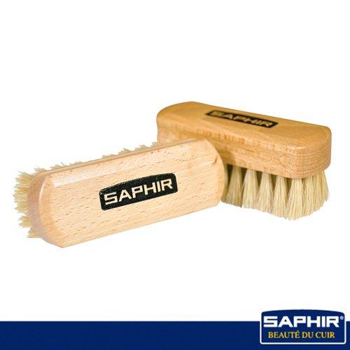 【SAPHIR莎菲爾】迷你拋光刷-皮件拋光  皮飾拋光   真皮打亮刷具