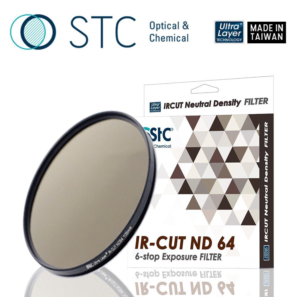 【STC】IR-CUT 6-stop ND64 Filter 67mm 零色偏ND64減光鏡