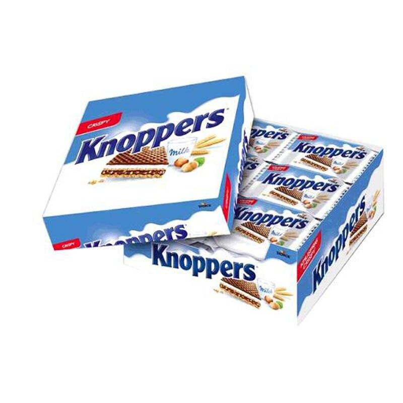 [COSCO代購] W126447 Knoppers 可可牛奶威化餅 25公克 X 24入