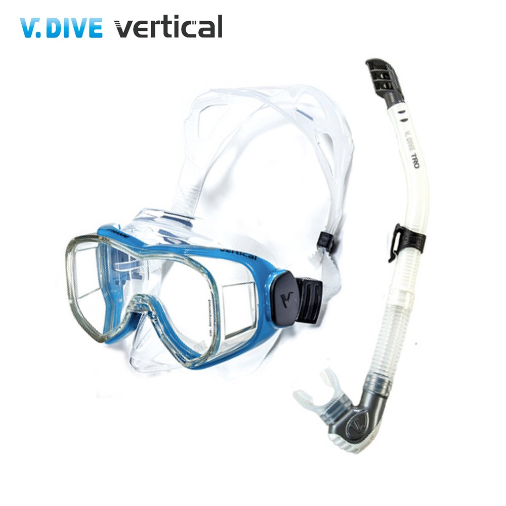 【V.DIVE Combo】威帶夫潛水精品組-TC301BL天藍色