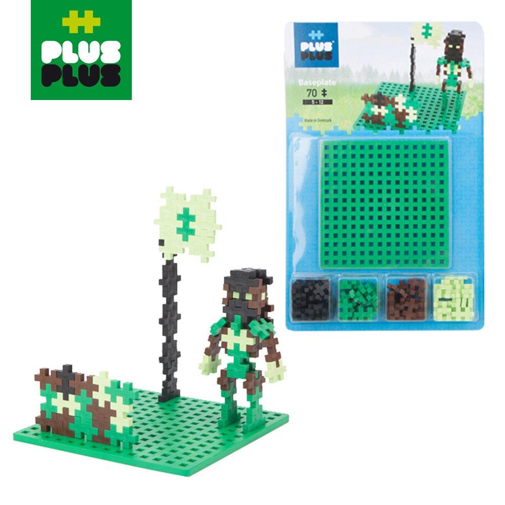 【 ++Plus-Plus 加加積木 】Mini 小顆粒-彩虹系列 70PCS (軍人)+創作底板