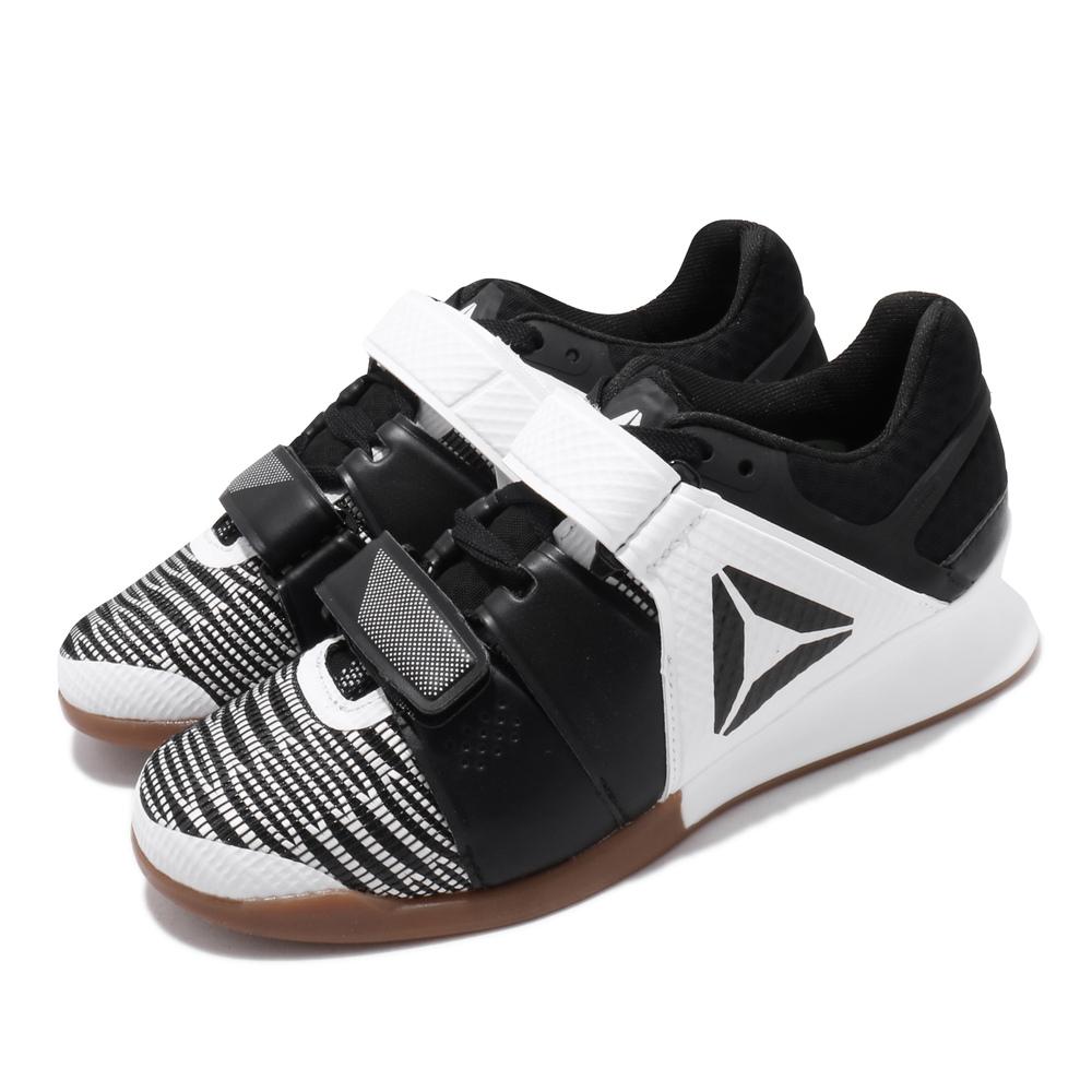 REEBOK 訓練鞋 Legacylifter FW 運動 女鞋 健身房 穩定 支撐 包覆 舉重 球鞋 白 黑 [FU7877]