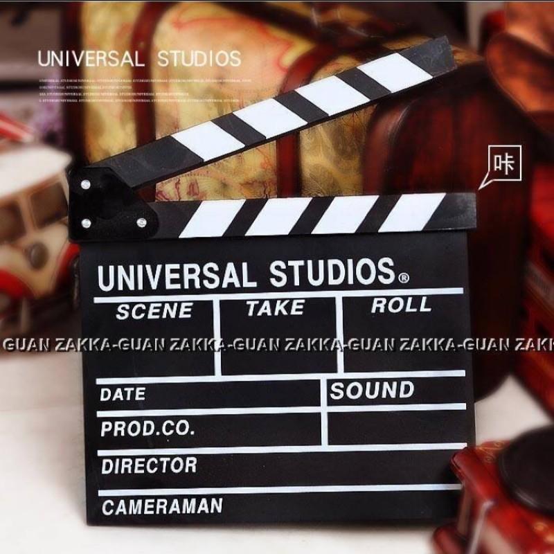 導演 電影拍板  小黑板 攝影道具 黑色場記板 婚紗 拍照 道具