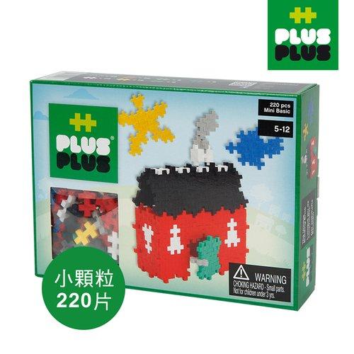 【 ++Plus-Plus 加加積木 】Mini 小顆粒-彩虹系列 房子 220pcs (盒裝)