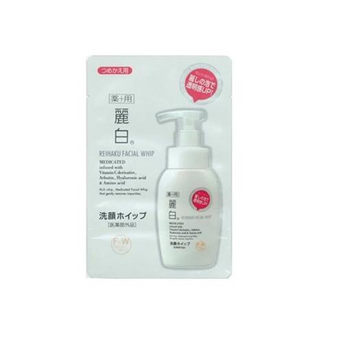 【熊野油脂】麗白泡沫洗臉慕斯霜補充包