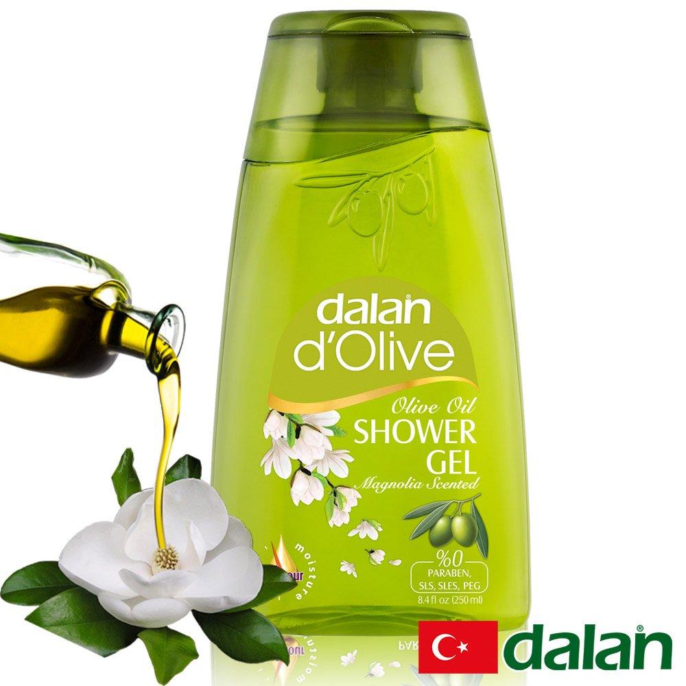 【土耳其dalan】頂級橄欖油玉蘭花pH5.5沐浴露250ml (即期品至2021.07)