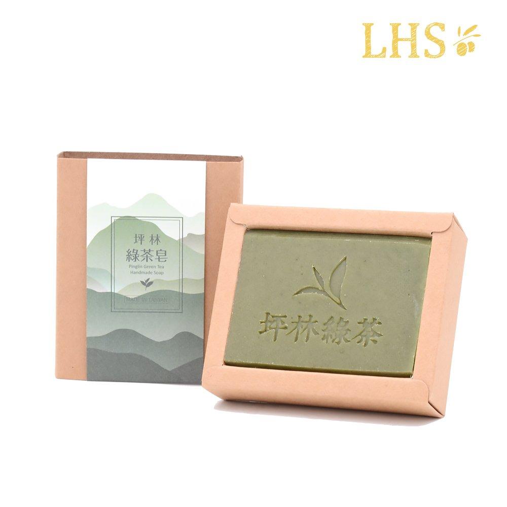 愛草學 台灣坪林綠茶皂