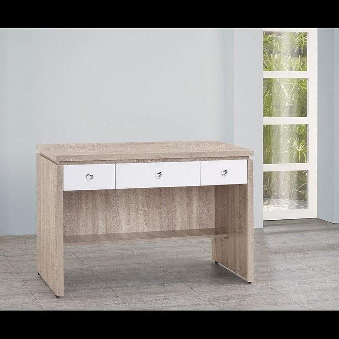 新精品ou-762-4 (p42-1) 橡木白色抽4尺辦公桌 (不含其他商品) 台北到高雄滿三千