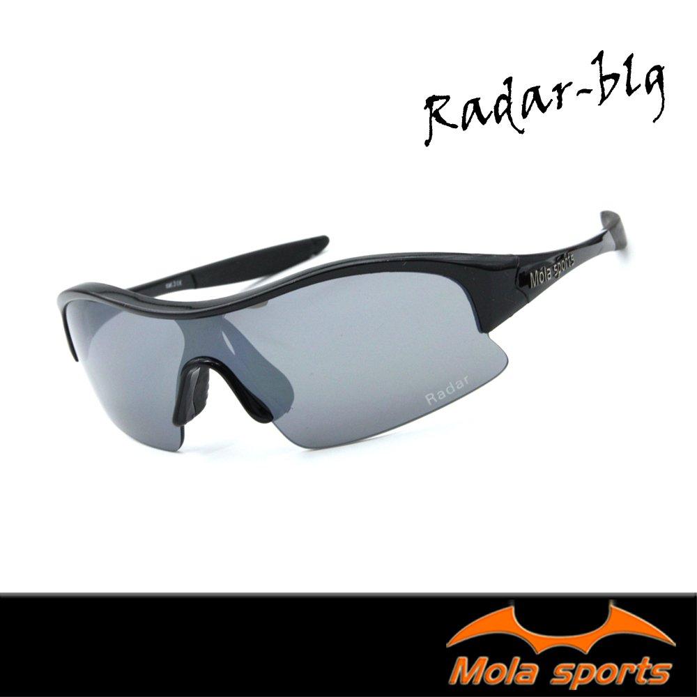 MOLA SPORTS 摩拉超輕量運動太陽眼鏡 radar_blg 自行車/高爾夫/跑步