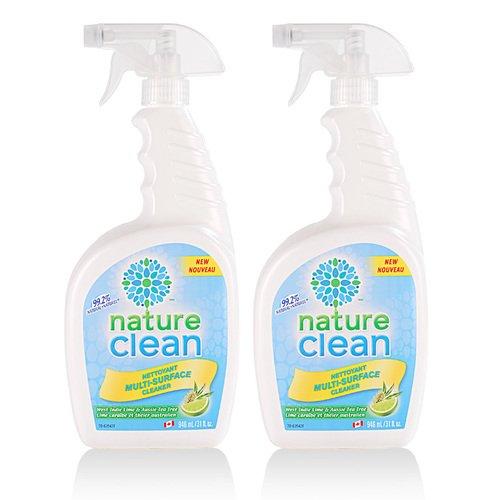 【綠易潔nature clean】加拿大 環保廚房專用清潔劑2入組
