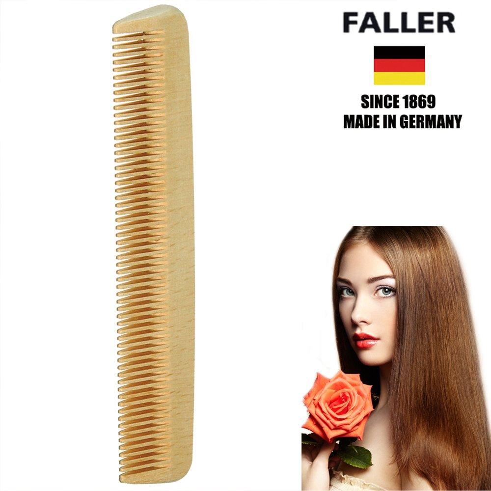 德國FALLER芙樂德國製 木齒梳 防靜電柔順直髮 FSC優質木材 方便隨身攜帶