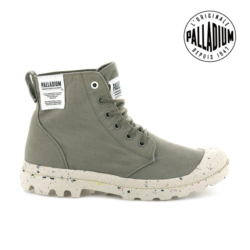PALLADIUM  PAMPA HI ORGANIC有機軍靴-男-松石綠