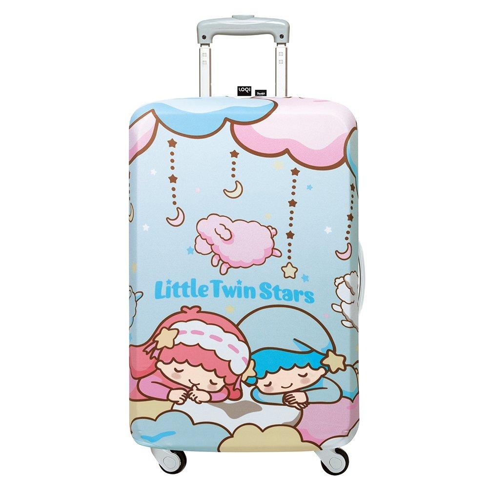 LOQI 行李箱外套/雙子星 白日夢【M號】
