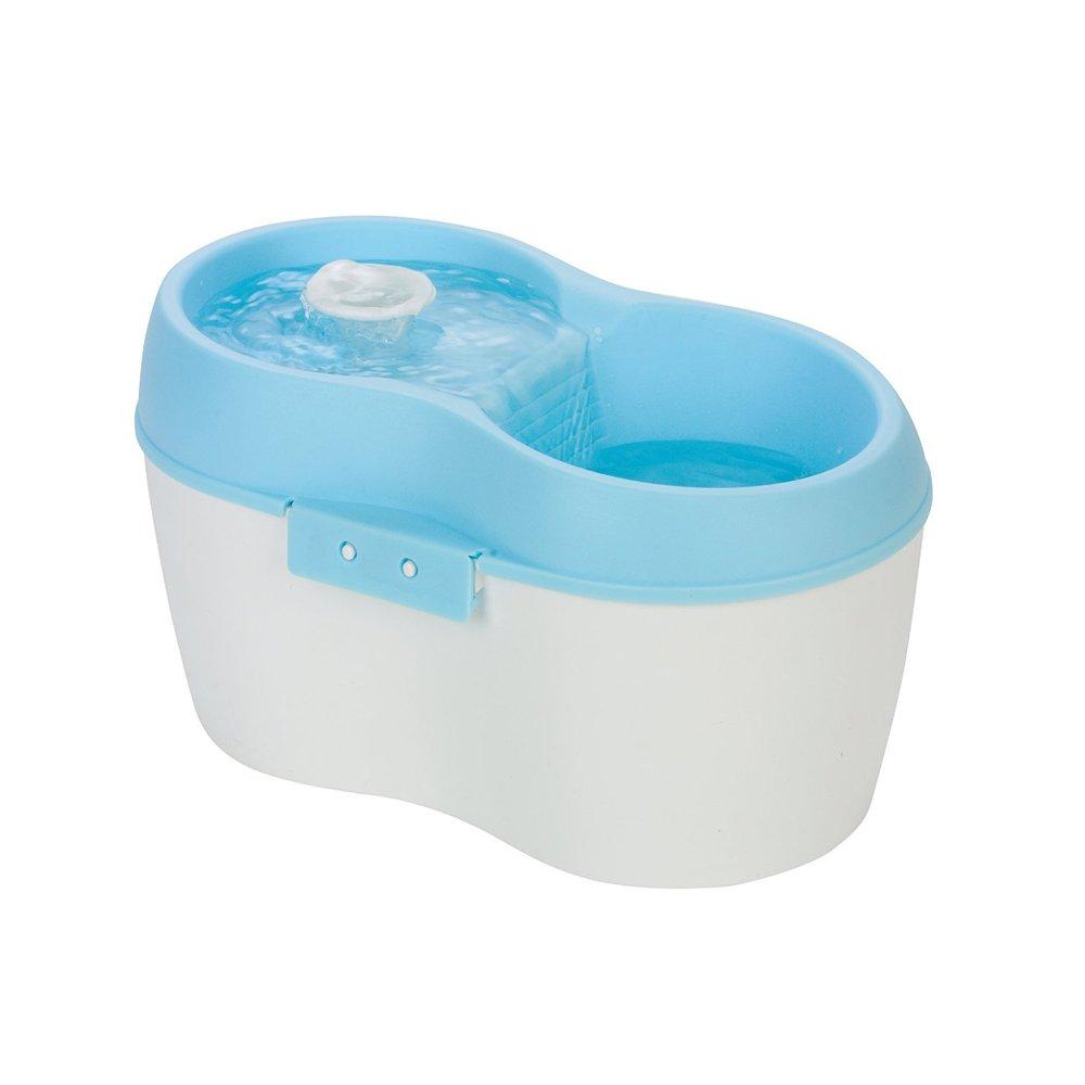 *Cat H2O*英國P.D.D研發設計靜音有氧濾水機2公升-湖水藍 / 犬 / 貓 / 寵物用