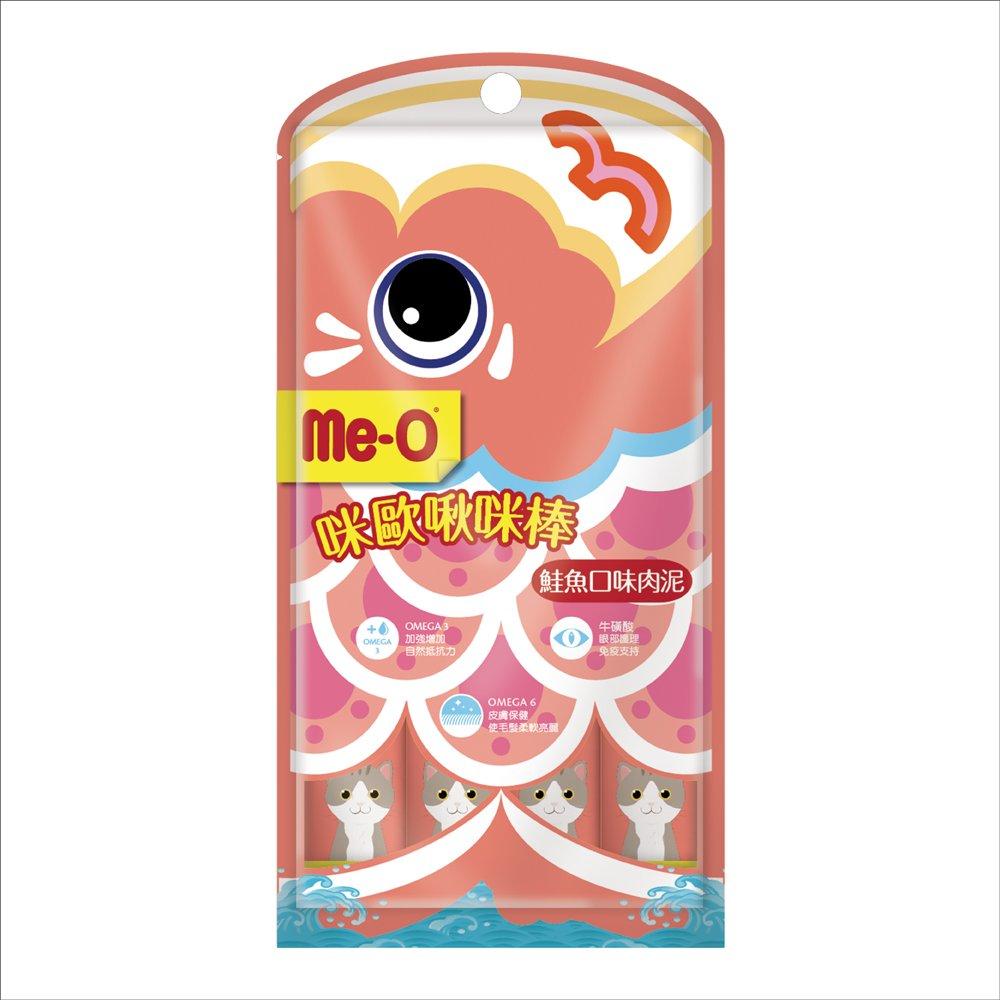 Me-O咪歐啾咪棒(貓肉泥) - 鮭魚口味15gX36入(罐裝)