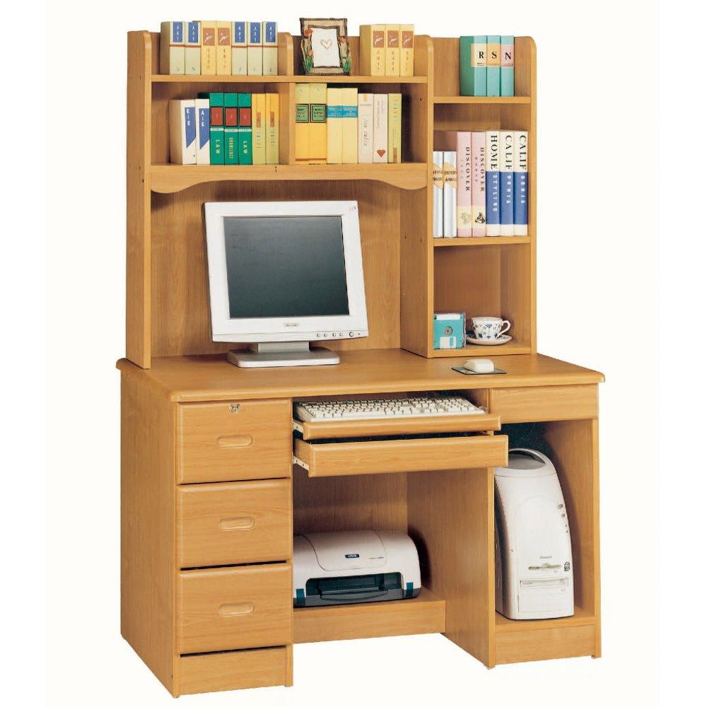 【MUNA】赤陽色4尺電腦書桌(全組)