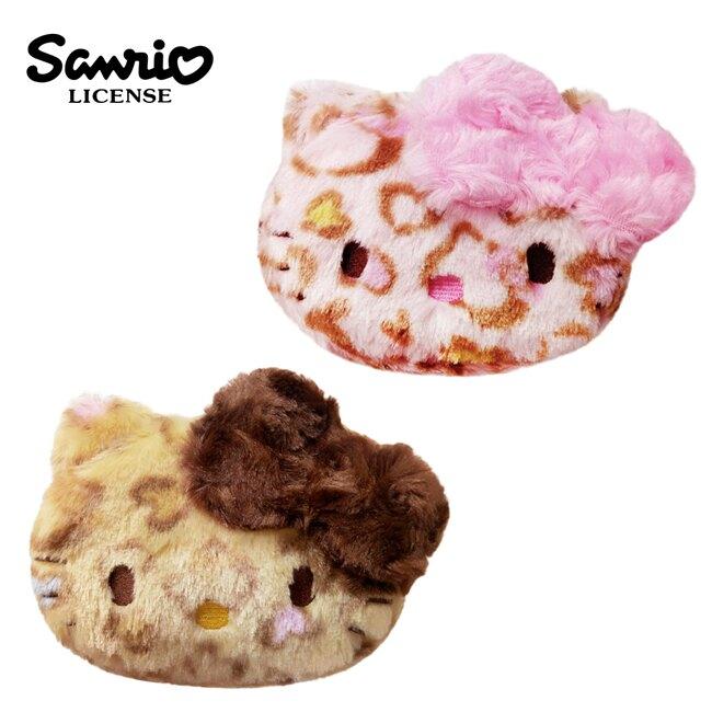 【日本正版】凱蒂貓 豹紋 收納包 化妝包 小物收納 Hello Kitty 三麗鷗 Sanrio