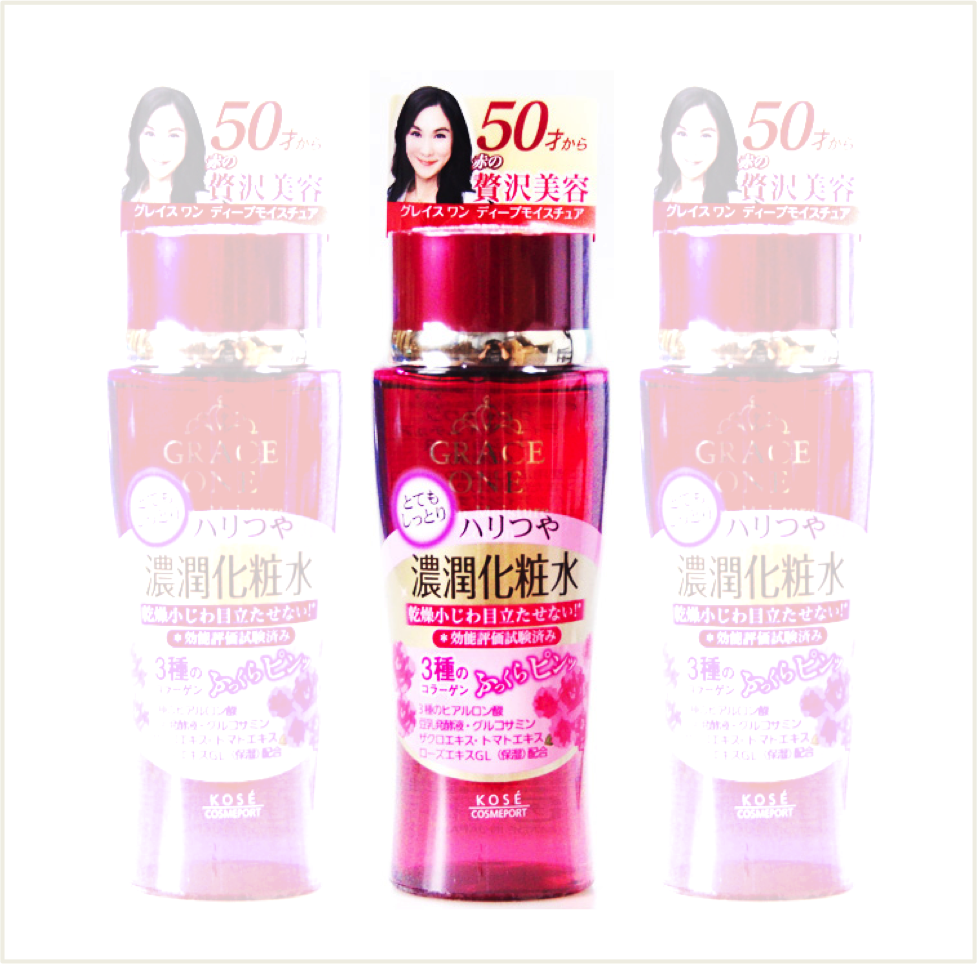 潼漾小舖 日本 kose 高絲 50才特濃潤保濕化妝水 180ml