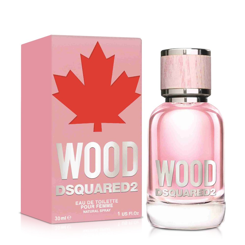 DSQUARED2 WOOD 天性女性淡香水(30ml)