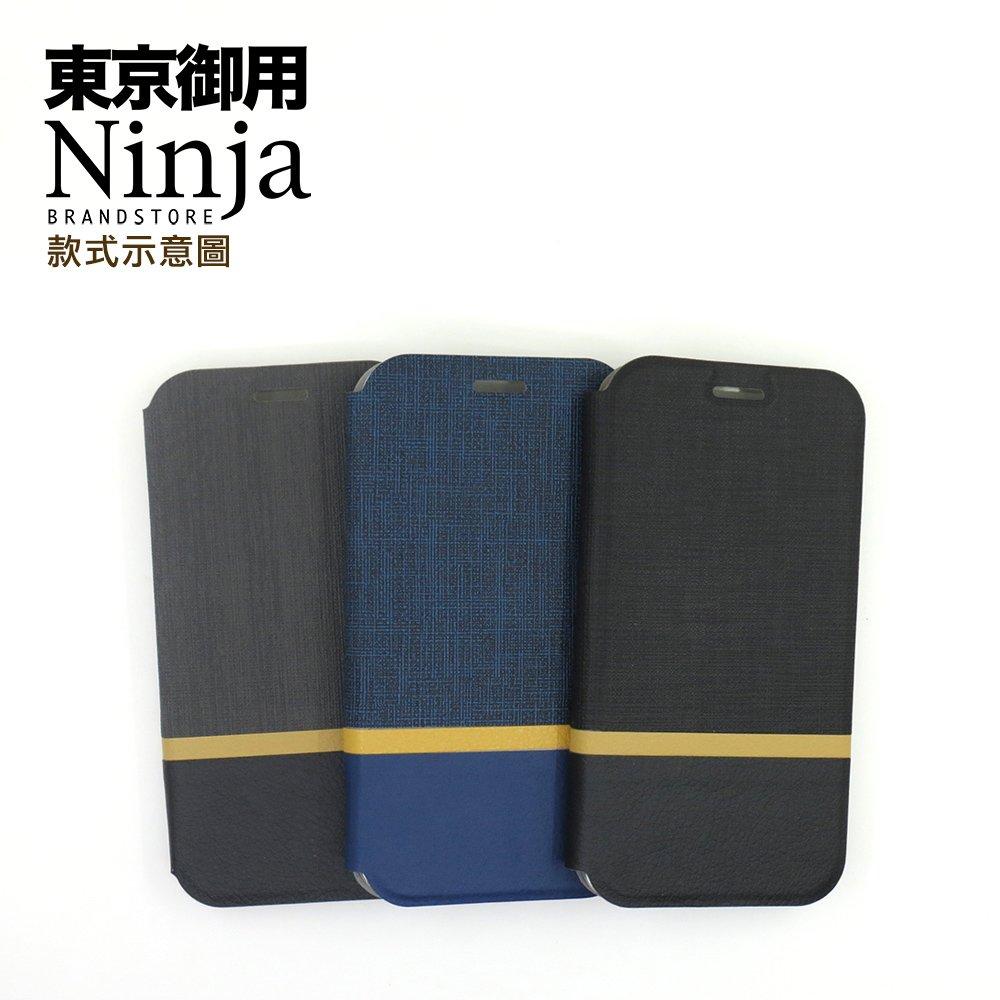 【東京御用Ninja】SAMSUNG Galaxy Note 10+ (6.8吋)復古懷舊牛仔布紋保護皮套